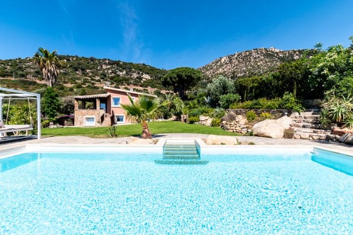 Elegante Villa für Hochzeitsfeier auf Sardinien