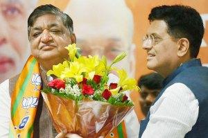 SPs Naresh Agrawal joins BJP