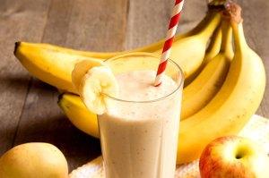 dry fruit banana shake
