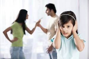 problems to children and divorce