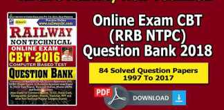 {Latest*} Kiran's Railway Non-Technical Online Exam CBT (RRB NTPC) Question Bank 2018 Free PDF Download