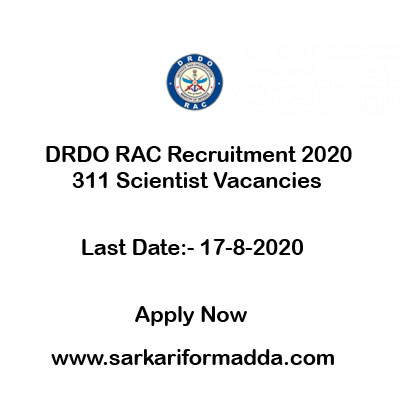 drdo scientist vacancy