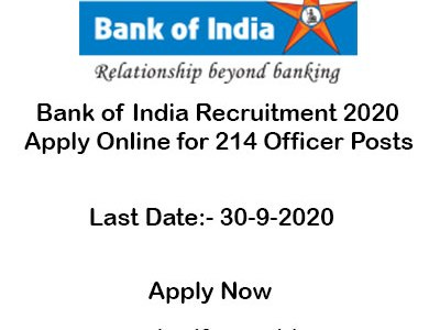 Bank-of-India-Recruitment-2020