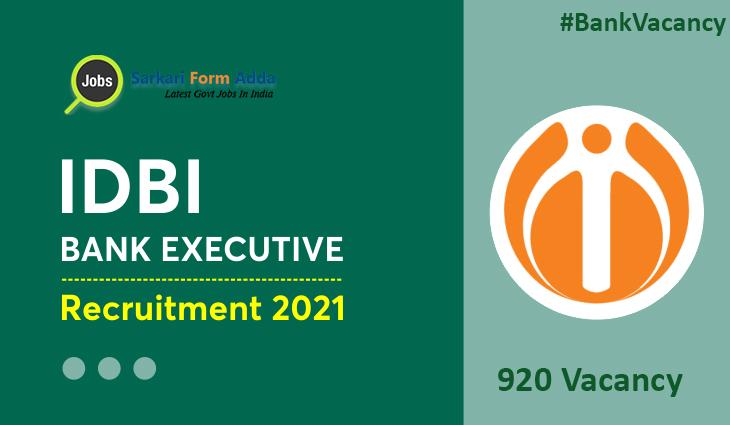 IDBI-Bank-Executive-920-Post-Online-Form-2021