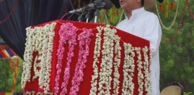 The Union Minister for Civil Aviation, Shri Ajit Singh addressing at the…