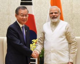 SPECIAL ENVOY SOUTH KOREA MR. JEONG DONG-CHAE MEETS PM