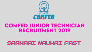 COMFED Junior Technician