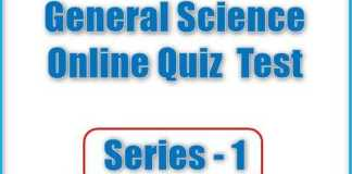 General Science- General Knowledge Quiz Questions