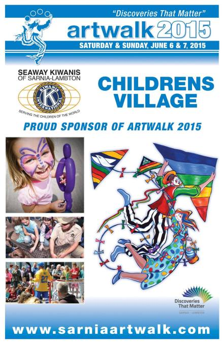 NEW THIS YEAR is our Childrens Village sponsored by the Seaway Kiwanis Centre! There will be lots of things to see and do for the whole family including our Festival Passorts! Pick one up for the kids and tour around the festival collecting stamps from all of our participants!
