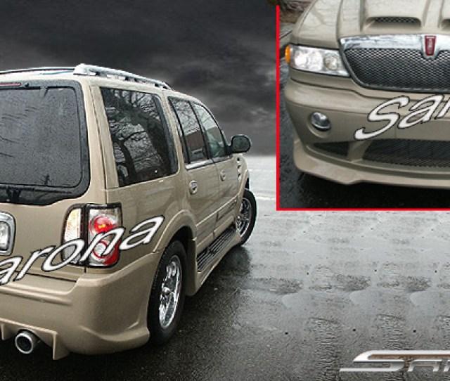 Custom Lincoln Navigator Suv Sav Crossover Body Kit  00 Part Lc 004 Kt