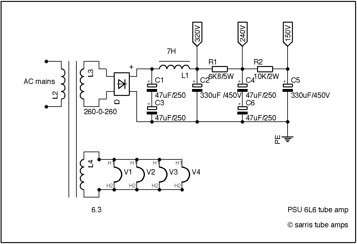 Guitar Output Transformer Wiring