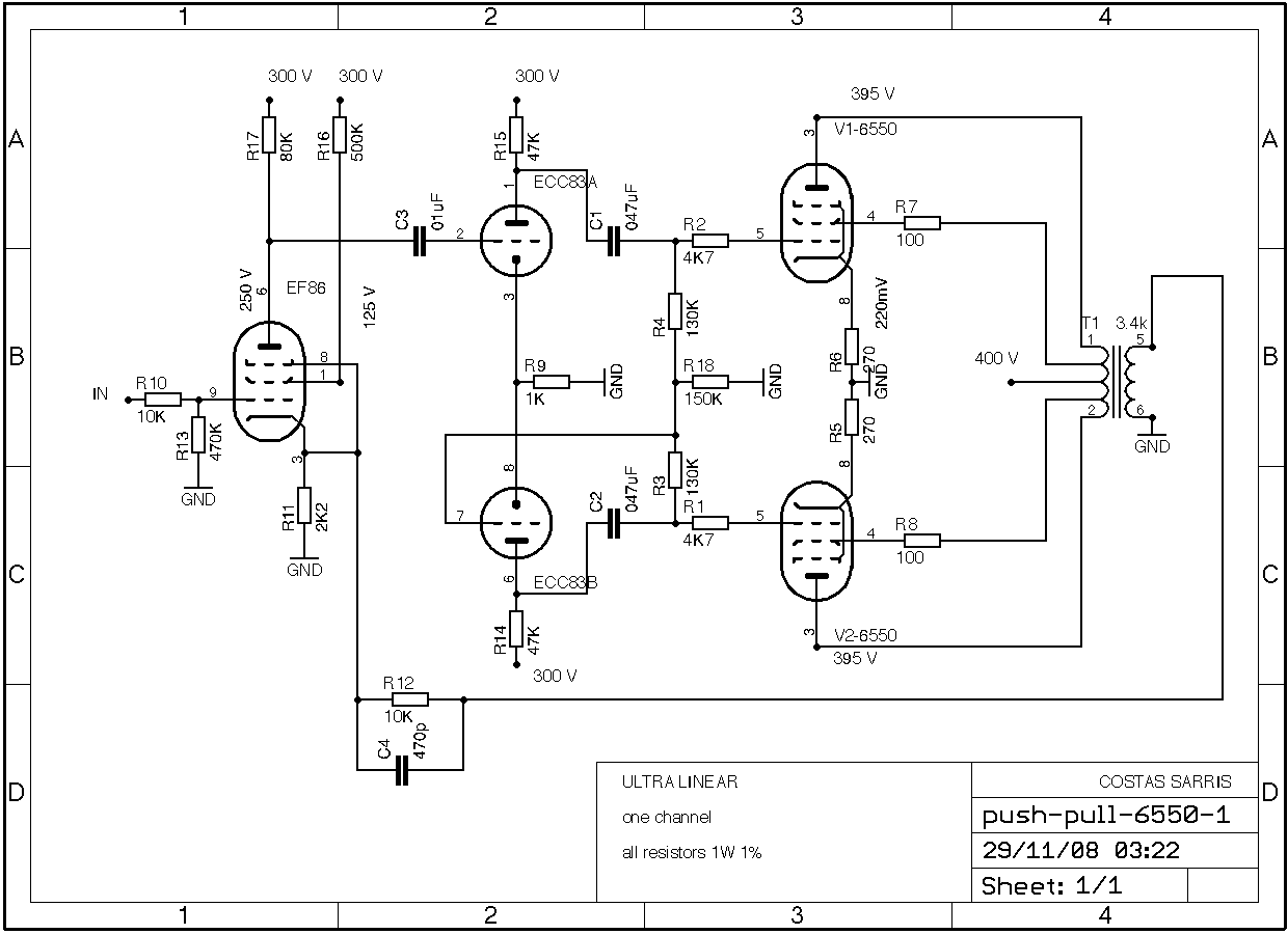 Push Pull Schematic