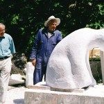 hand carving marble