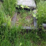 grave before restoration