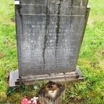 family b before gravestone