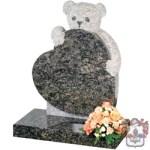 teddy bear childrens headstone