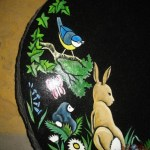 watership down children's characters headstone