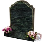 grey granite marble headstone