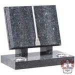 .Blue pearl granite open book