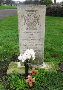 Gunner William Connolly VC, Kirkdale Cemetery