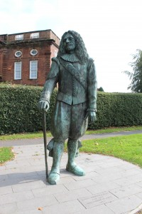 Statue of John Middleton, the Childe of Hale