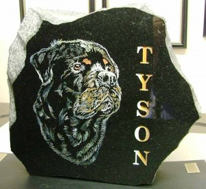 Pet Memorials - Tyson - Dog