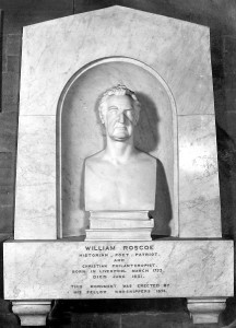 Copy of a picture of Roscoe's monument by Stewart Dale, 1931