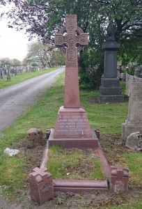 Anfield Cemetery Alfred Lewis Jones Grave