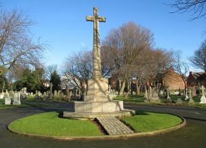 Rake Lane Cemetery War memorial by Rept0n1x