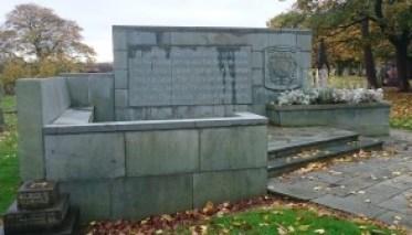 Anfield Cemetery Blitz memorial