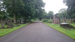 st helens cemetery main path