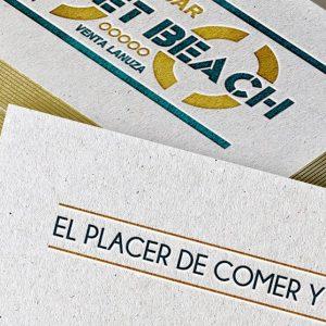diseño de tarjetas de visita - estudio de diseño Alicante - agencia de publicidad