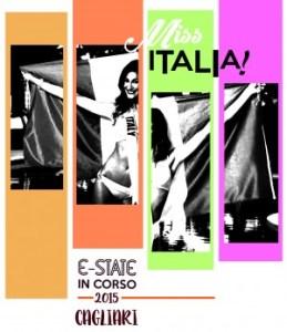 Diseño cartel Cerdeña - estudio diseño gráfico Alicante - desfile miss Italia