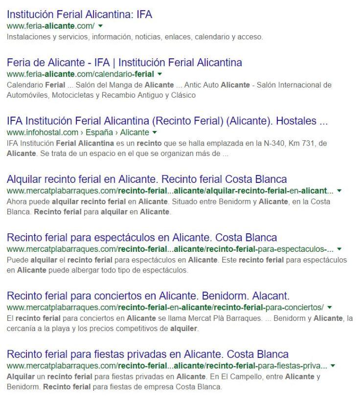 Redacción de contenidos web ALC - posicionamiento orgánico SEO - comunicación corporativa - agencia de publicidad Alicante diseño web