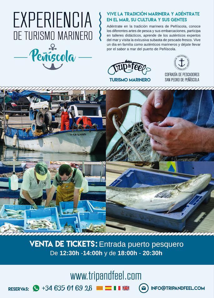 Fotografia corporativa para diseño gráfico de folleto en Peníscola