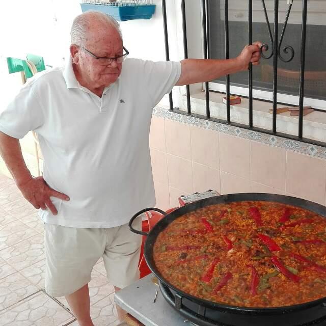 Paella valenciana Alacant
