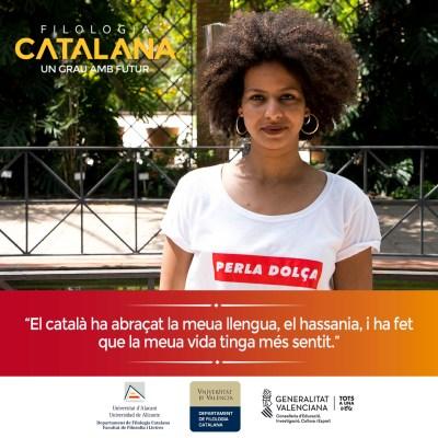 Campaña publicitaria para universidad - Filología Catalana UA y UV Senia Mulayali