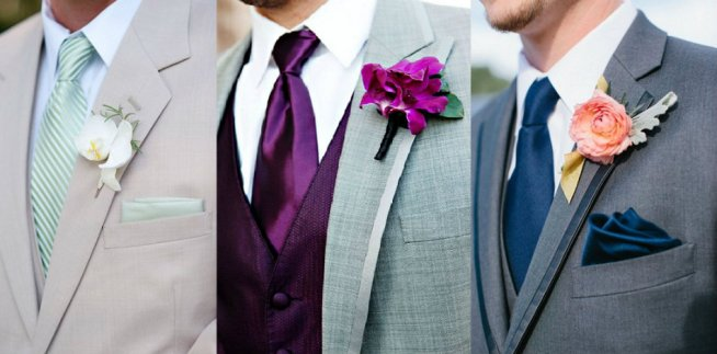 Groom and Wedding Party inspiration