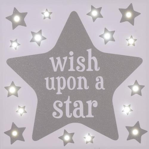 Wish upon a star LED Canva