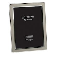 Silver plated picture frame 5 x 7 inch