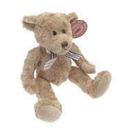 soft beige teddy bear 7.5 inches