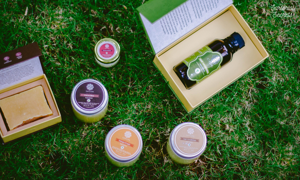 Fall In Love With Your Skin With Natural Beauty Products From Satliva