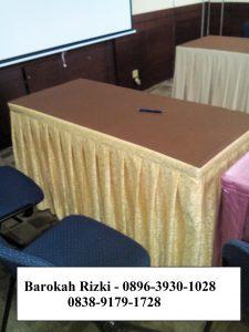 taplak meja rempel by : sarungkursi-jakarta.com