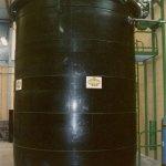 Cuve de stockage des effluents