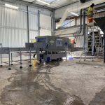 Laveuse de palox, construction en acier inoxydable - linéaire - chez Suez