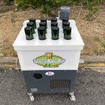 Bac de congélation des cols, 12 trous avec 1/2 bouteilles champenoise