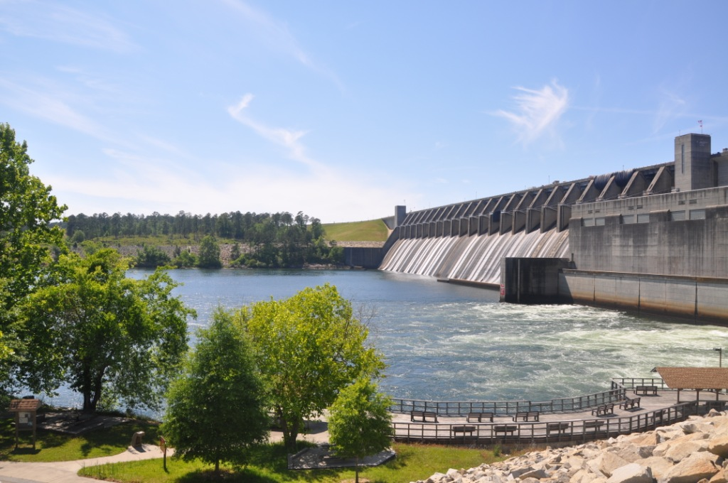 Image result for j strom thurmond dam