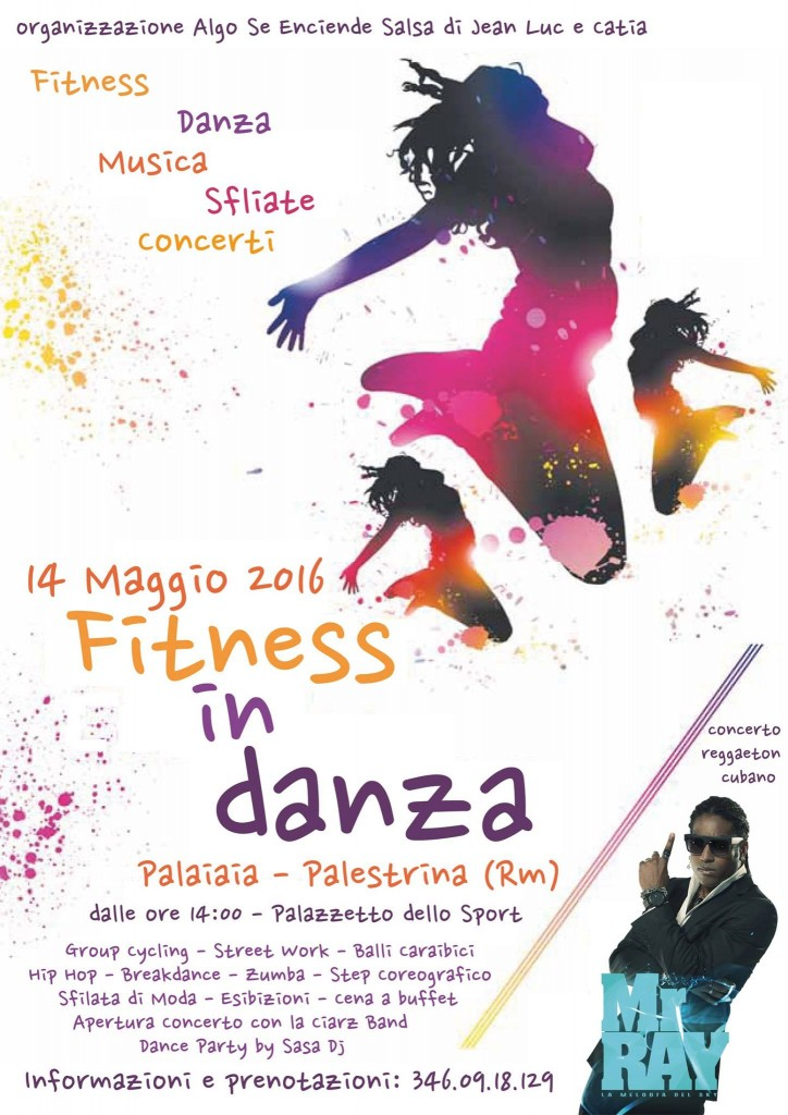 Locandina Fitness Day