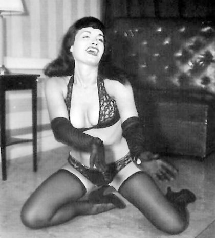 Gloriosa Bettie Page