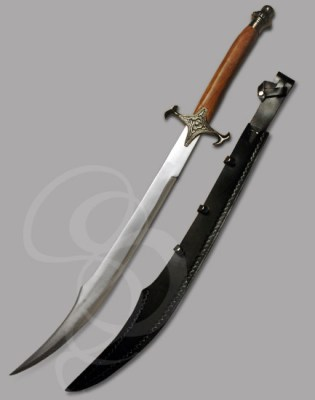 Persian Prince Scimitar by strongblade.com